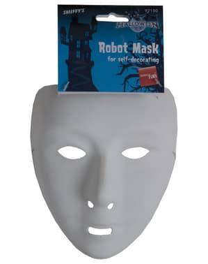 Masque basique blanc