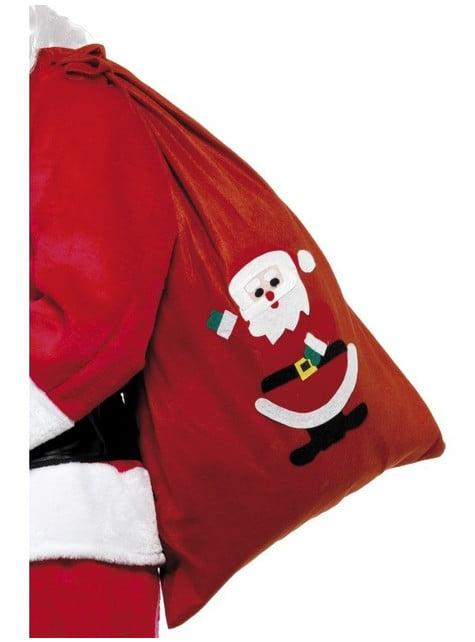Saco de regalos de papá Noel