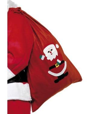 Worek na prezenty Świętego Mikołaja