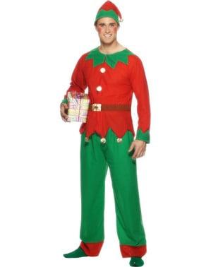 Costume da Elfo uomo