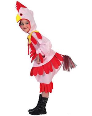 Dívčí kostým kuře