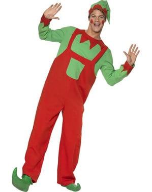 Costume da elfo lavoratore da uomo