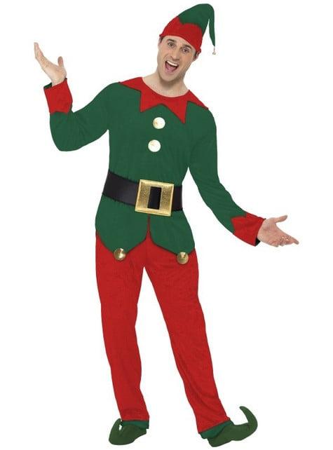 Strój zabawny elf męski