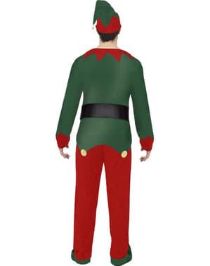 Fato de elfo divertido para homem