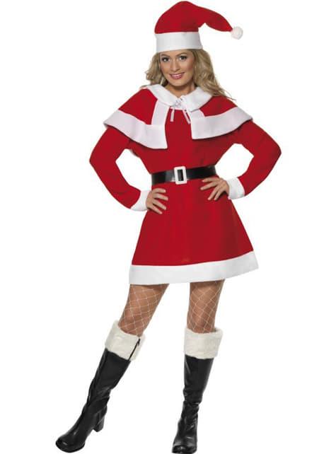 Kostium Miss Santa z polaru