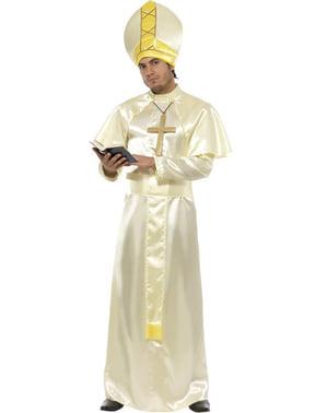 Fato de Papa para homem