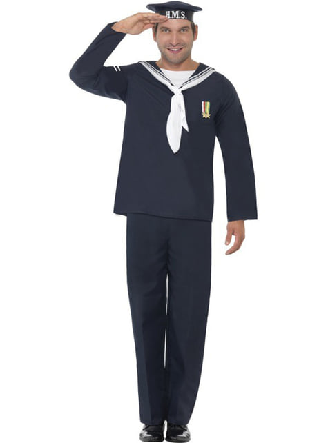 Kostým námorník pre dospelých