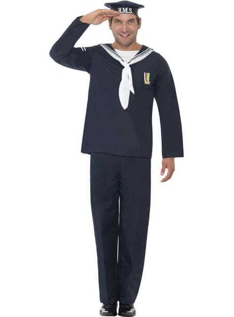 Merijalkaväen sotilas, aikuisten asu