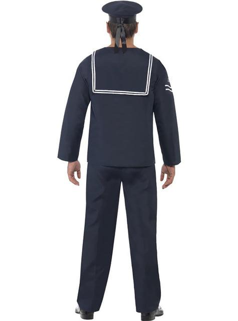Disfraz de hombre de la marina - hombre