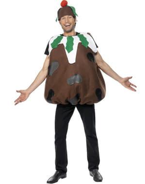 Chocolate Christmas Pudding Adult Costume