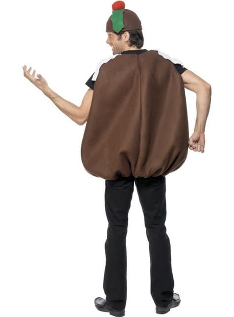 Шоколадов коледен костюм