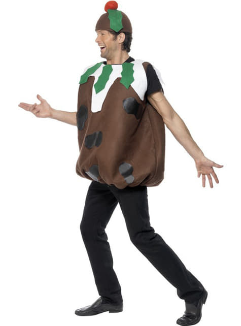 Chocolate Christmas Pudding Adult Costume
