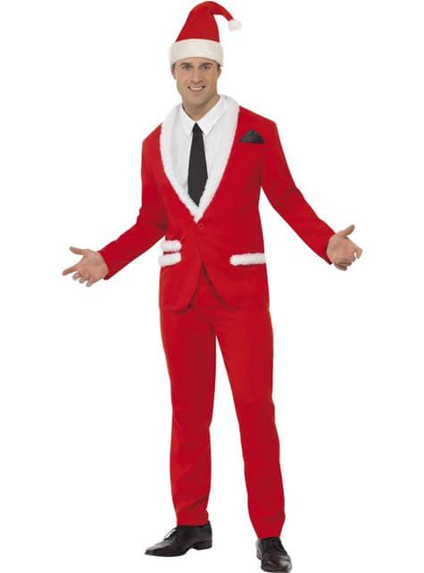 Disfraz de Santa Claus elegante para hombre