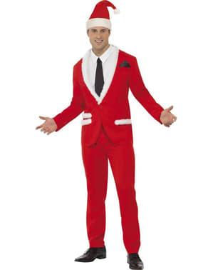 Costume Motif Père Noël Élégant