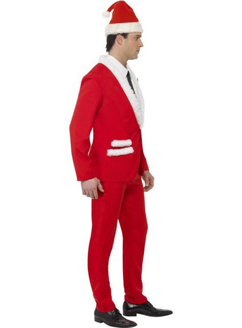 Eleganter Weihnachtsmann Anzug