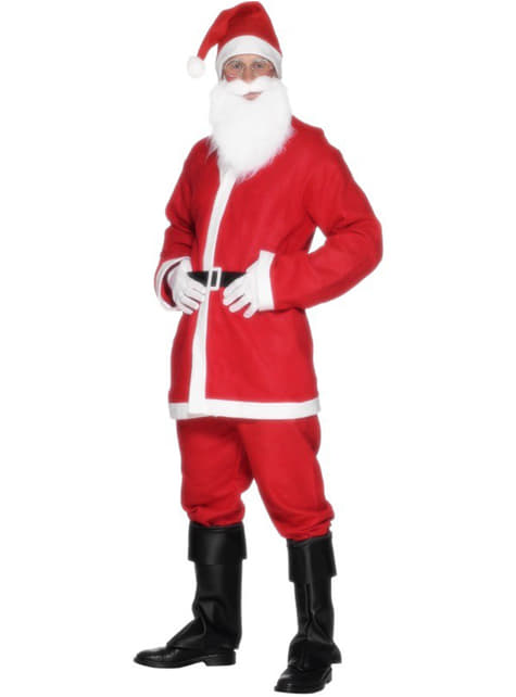 Икономичен костюм на Дядо Коледа за възрастни