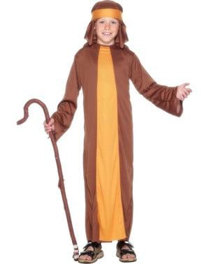 Fato de pastorzinho hebreu para menino
