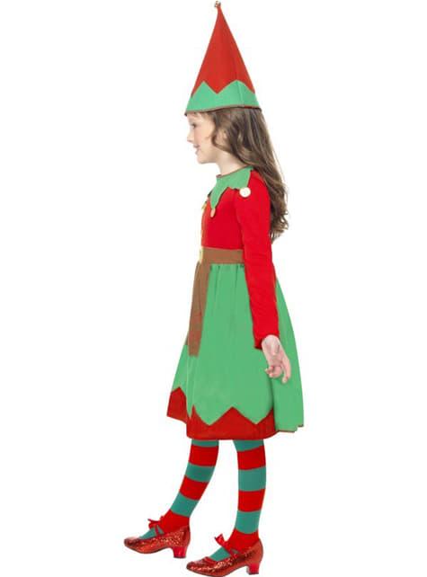 Disfraz de pequeña ayudante de Santa - original