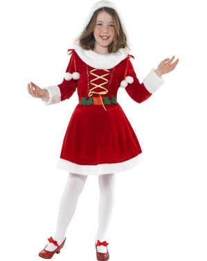 Lil' Miss Santa Child Costume