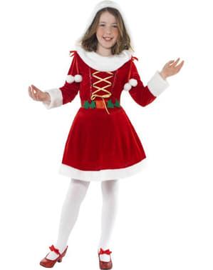 Lille nissepige kostume til børn