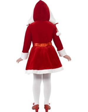 Lil 'Мис Санта дете костюм