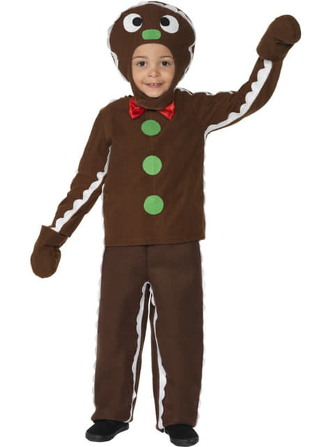 Gingerbread Man Toddler Costume