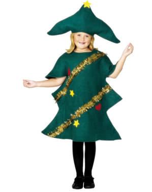 Costume da albero di natale da bambino