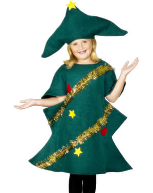 Costum de brad de Crăciun pentru copii