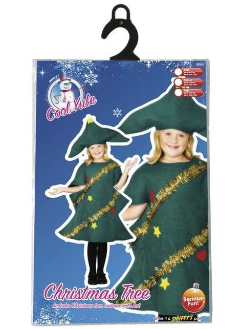 Disfraz de árbol navideño infantil - traje