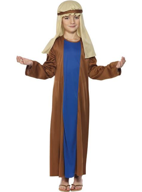 Disfraz de San José económico para niño