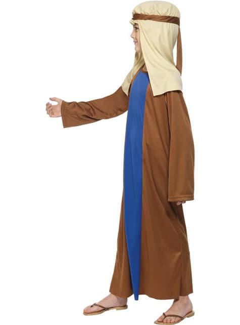 Disfraz de San José económico para niño - original