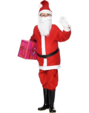 Fato de Pai Natal económico para menino