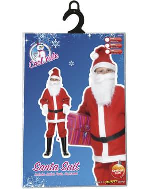 Οικονομικό κοστούμι για αγόρια Santa Claus