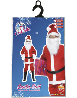 Economic Santa Claus Kids Costume