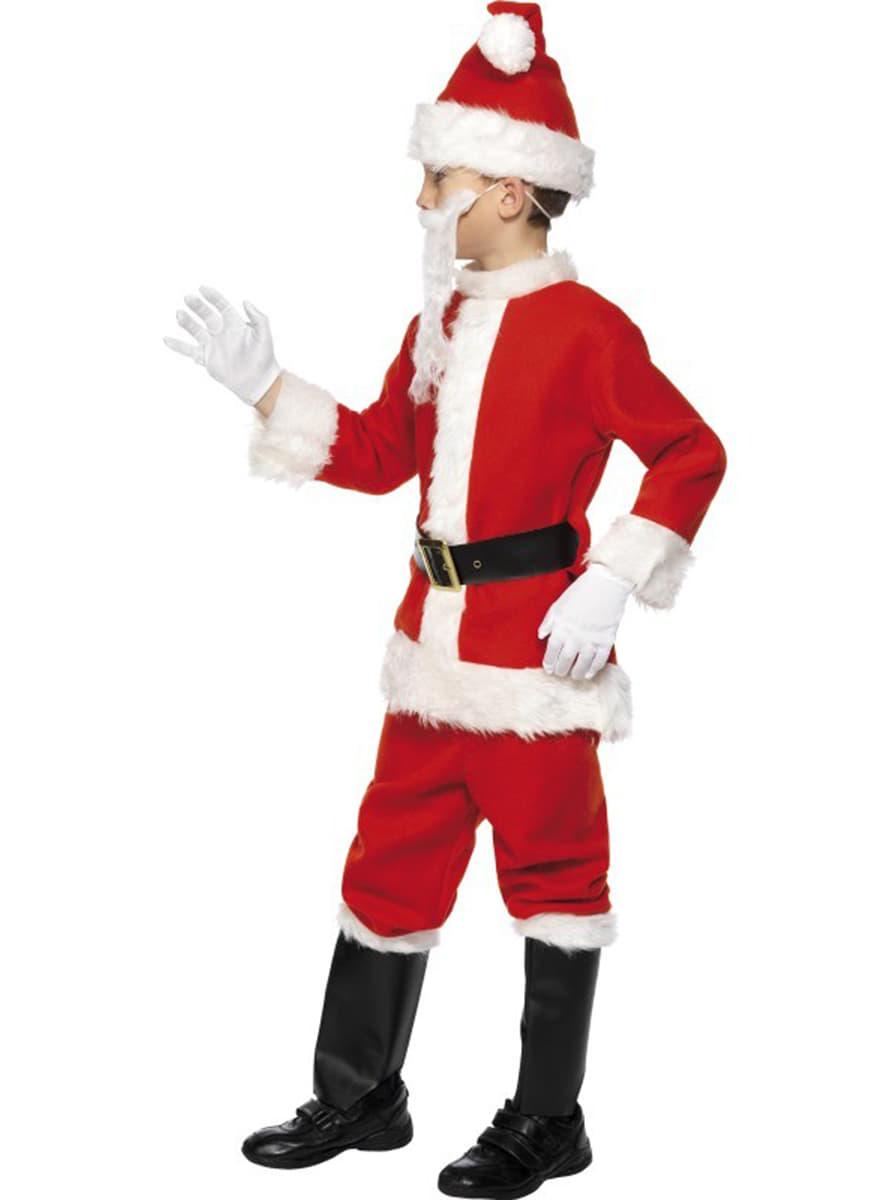 Disfraz de santa claus deluxe infantil comprar online en - Disfraz de santa claus para nino ...