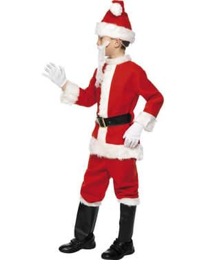 Kerstman deluxe Kostuum voor kinderen