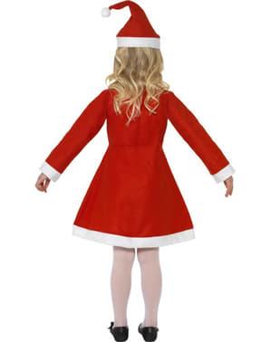Vestito da Babbo Natale per bimba