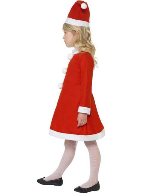Little Miss Claus Child Costume