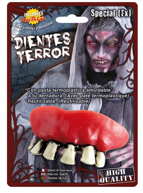 Dentier de sorcière