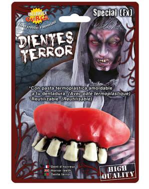 Dentadura de bruxa