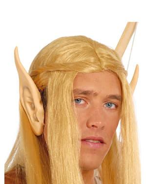 Orelhas de elfo pontiagudas
