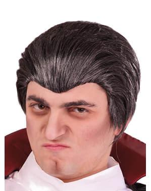 Svart Drakula peruk