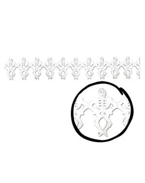 हैलोवीन कंकाल माला
