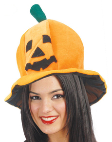Sombrero calabaza Halloween