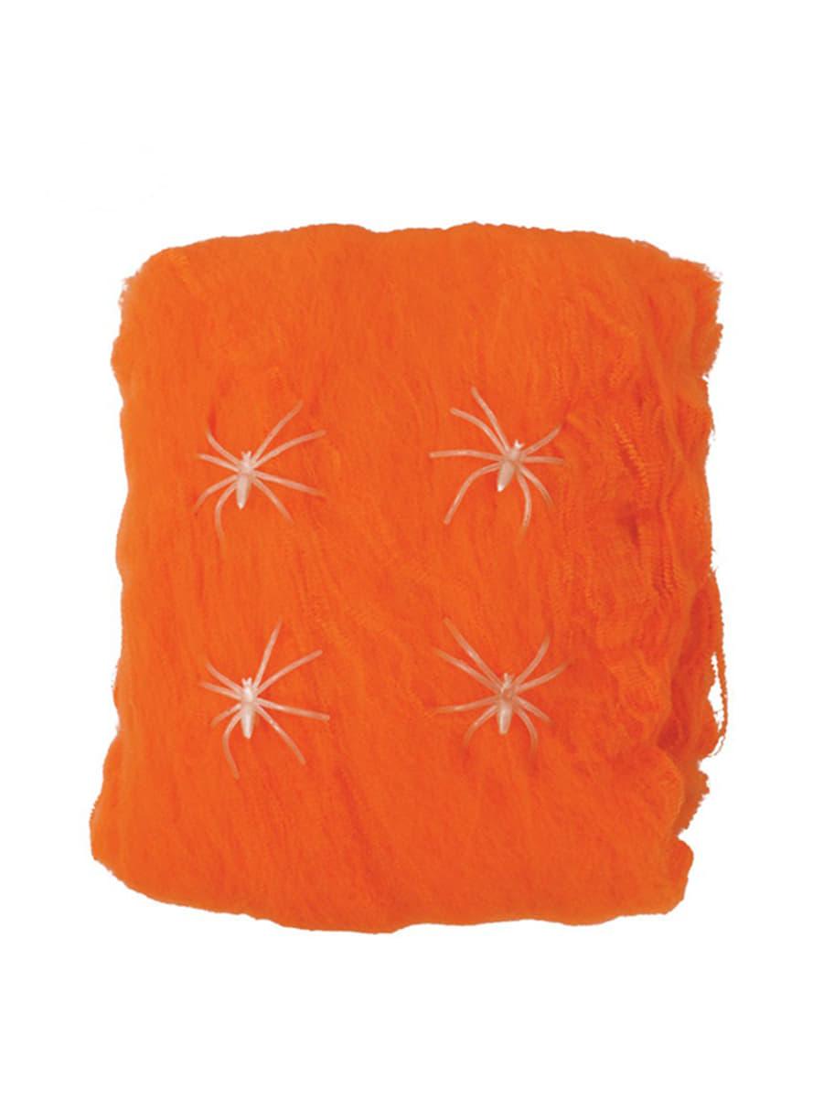 toile d araign 233 e orange pour funidelia