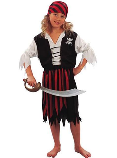 Déguisement pirate classique pour fille
