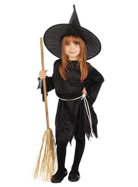 Παραδοσιακή Στολή Κακιά Μάγισσα για Κορίτσια
