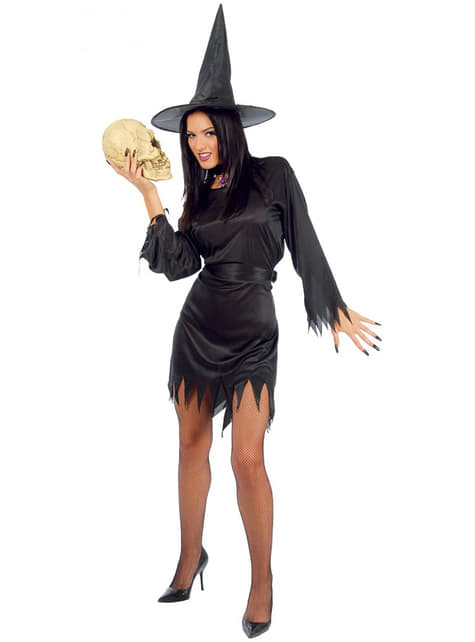 Disfraz de bruja mística para mujer