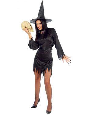 Mystieke heks kostuum voor vrouw
