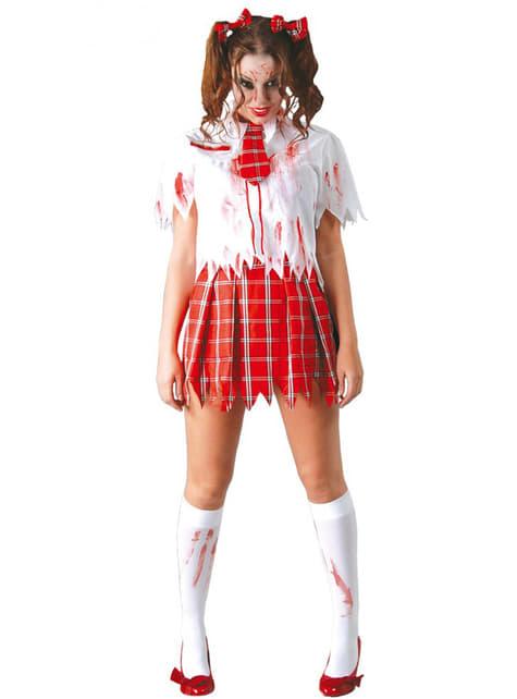 Zombieskolepigeudklædning